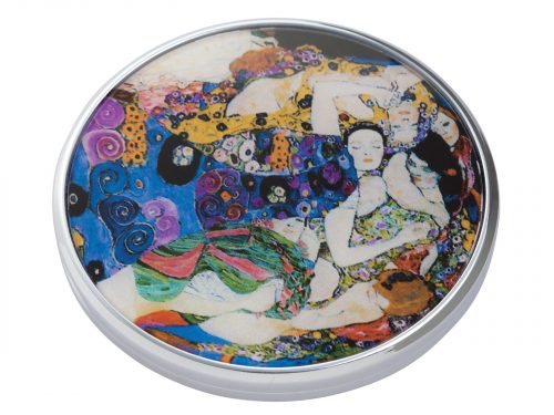 "This beautifully crafted pocket mirror by Parastone comes with a stunning extract from Gustav Klimt's painting of ""Later Life"". Gustav Klimt was an Austrian symbolist painter and one of the most prominent members of the Vienna Secession movement. Size: Diameter: 7 cm - 3"". By John Beswick Product Code: M02KL(S)"