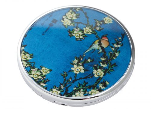 "This beautifully crafted pocket mirror by Parastone comes with a stunning extract from Katsushika Hokusai's ""Birds and Flowers"" Painting. Hokusai was a Japanese artist born in 1760 and has created other famous paintings including ""The great Wave off of Kanagawa"". Size: Diameter: 7 cm - 3"". By John Beswick / Parastone. Product Code: M20HO(S)"