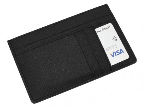 This beautifully made Stackers Black Large Card Case is made from vegan leather and cotton, a stylish and elegant way to customise the way you store your items. Size: 14.5cm x 9.5cm x 5cm By Stackers Product Code: 75376