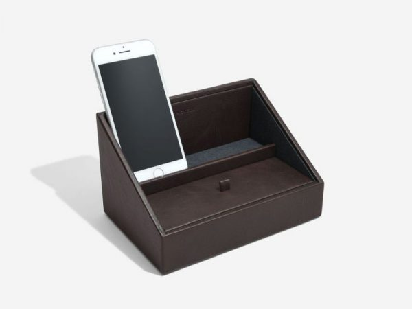 Stackers Brown Mini Phone Valet