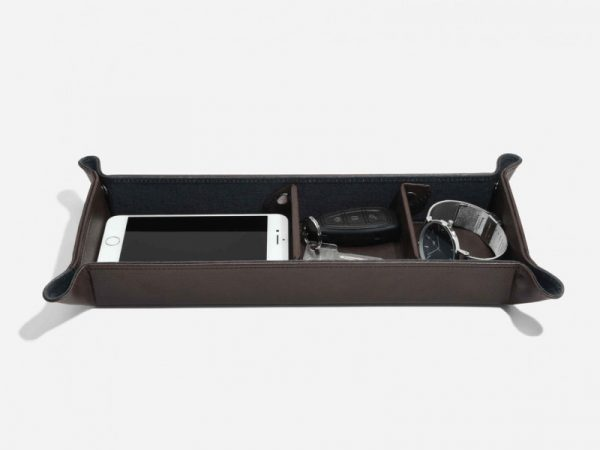 Stackers Brown Large Catchall 75408