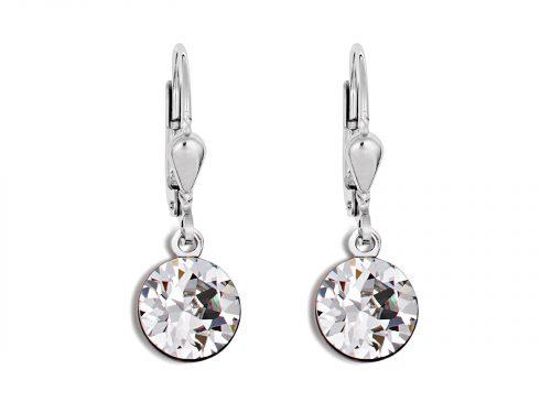 Coeur De Lion Swarovski Crystal Pierced Earrings