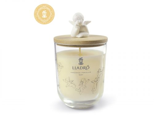 Lladro Candle with Angel Lid - Gardens of Valencia