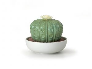 Lladro Cactus With Flower
