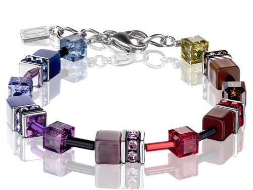 Coeur De Lion Geo Cube Multicoloured Polaris Bracelet