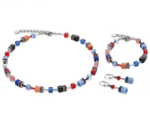 Coeur De Lion Geo Cube Multicoloured Motion Jewellery Set