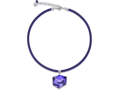 Coeur De Lion Purple Swarovski Crystal Necklace