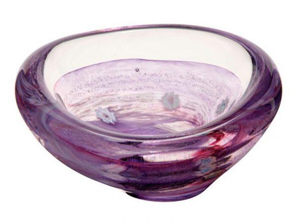 U11048 Caithness Raindrop Violet Dish