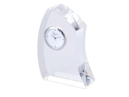 Dartington Crystal - Medium Crescent Clock GW2249