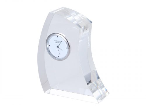 Dartington Crystal - Large Crescent Clock GW2250