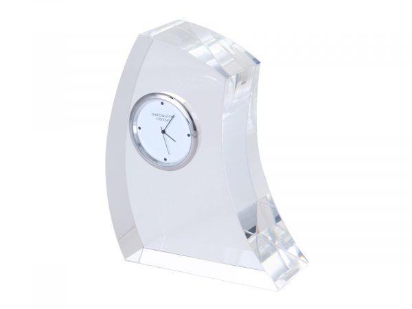 Dartington Crystal - Large Crescent Clock GW2250