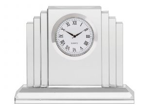 Royal Scot Crystal Clock