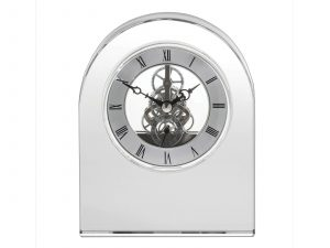 Royal Scot Crystal - Contemporary Crystal Clock CLOCON