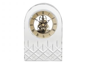 Royal Scot Crystal - Large Crystal Clock CLOLONL