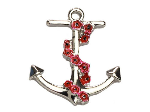 Angelys Poppy Brooch - Anchor